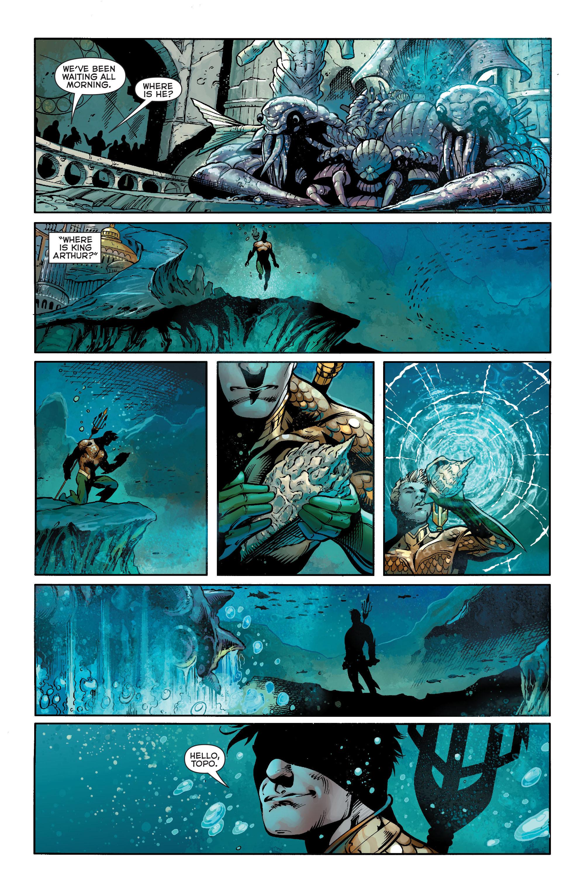 Read online Aquaman (2011) comic -  Issue #19 - 3