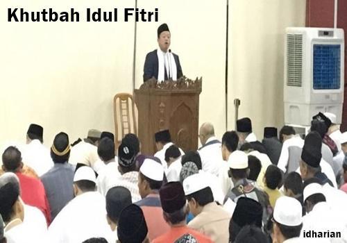 Contoh Khutbah Idul Fitri Singkat Kemenangan Sebagai
