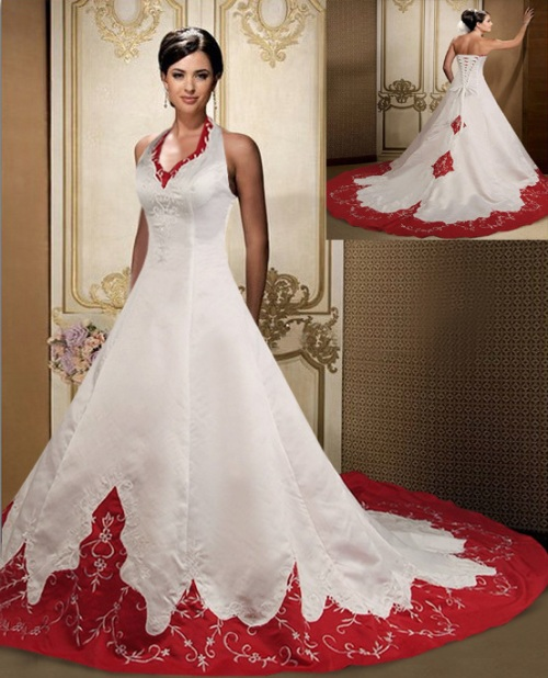 Wedding Dress Ideas: Musings Of A Bride: CHRISTMAS THEMED WEDDING: BRIDAL DRESS