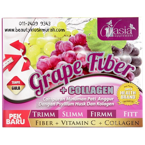 Grape Fiber + Collagen V'asia