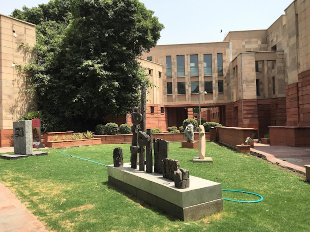National Of Modern Art Delhi India Summer Afternoon Experiencing