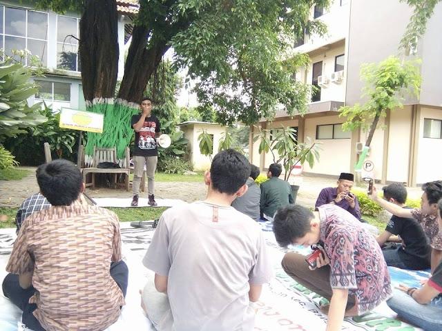 mimbar bebas kampus unisnu, orasi mahasiswa unisnu jepara