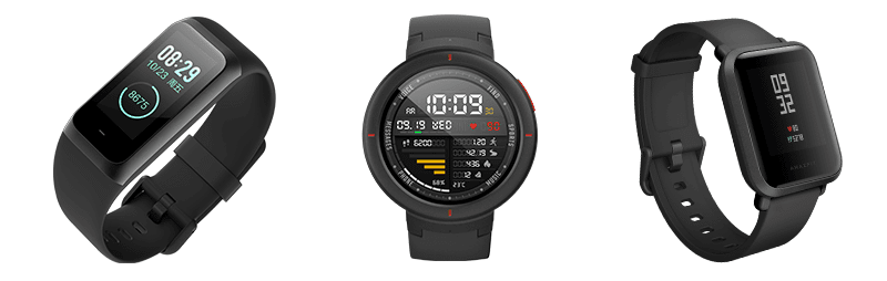 Amazfit launches the Cor2, Bip and Verge smartwatches