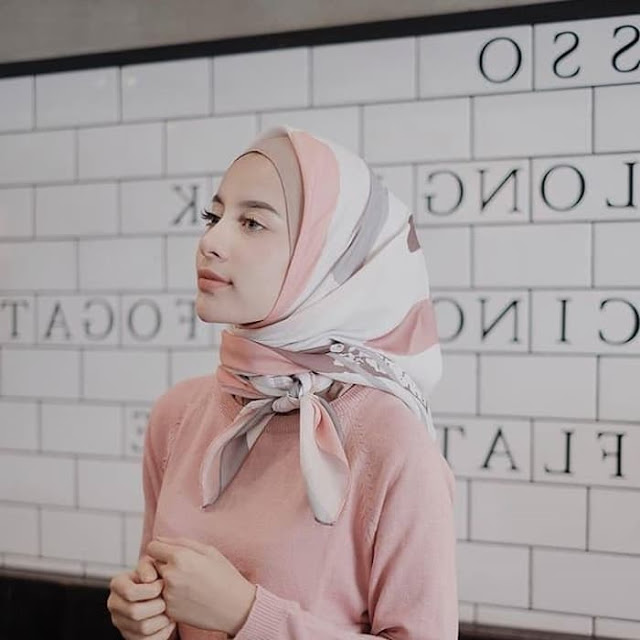 Jilbab Segi Empat Voal Vimbre 7 Termurah Harga Grosir Berkualitas