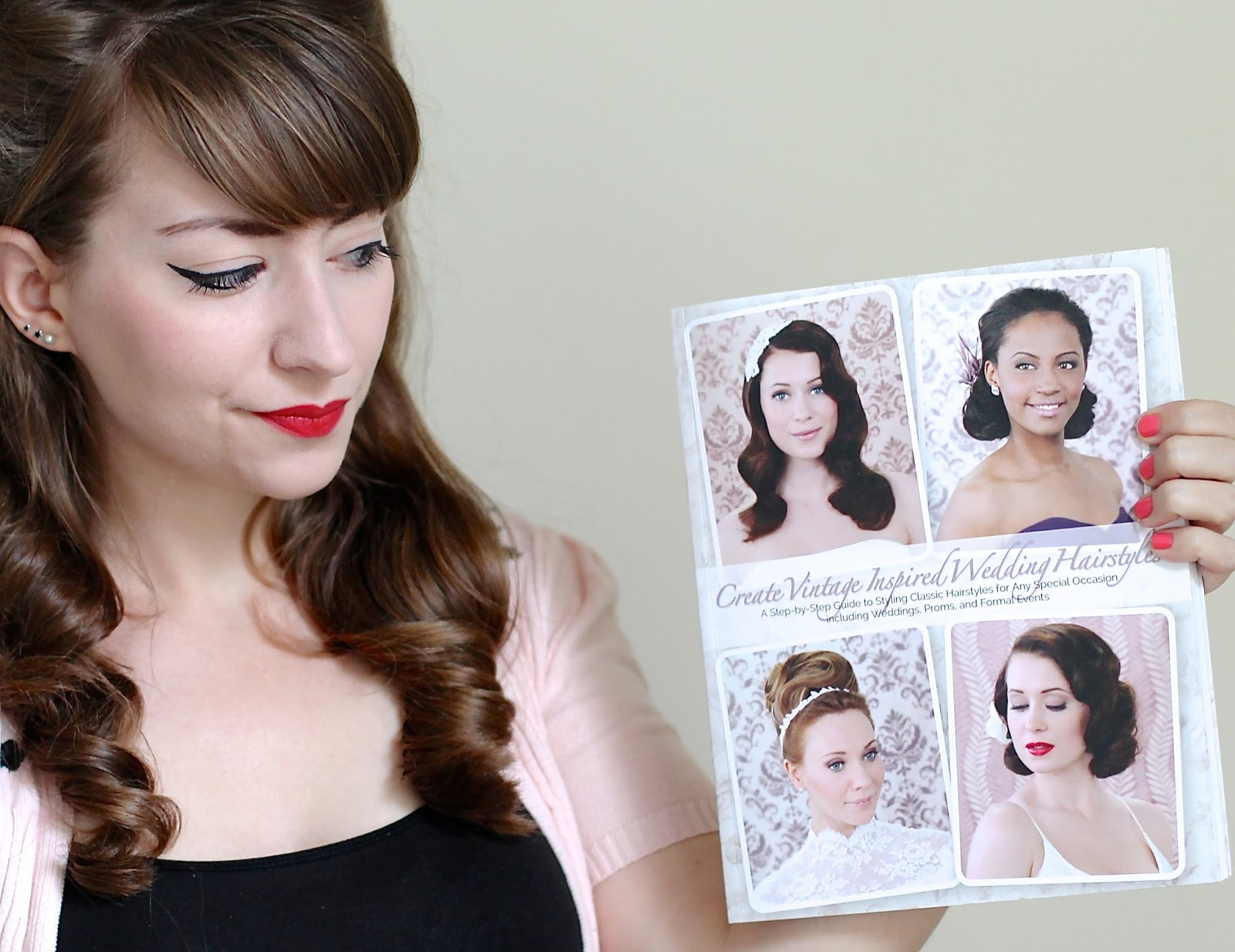 Create Vintage Inspired Wedding Hairstyles A Book Of