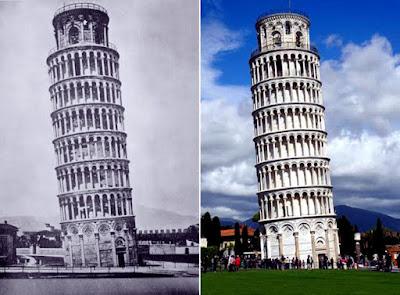أحد عجائب الدنيا برج بيزا المائل متى تم بناءه وماسبب انحرافه وميالانه ؟!