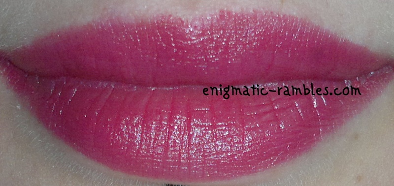 Eyes-Lips-Face-ELF-Moisturising-Moisturizing-Lipstick-Rosy-Go-Round-Swatch-Review