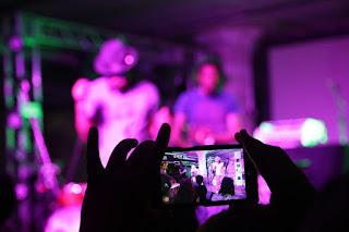 DJ photoshooting