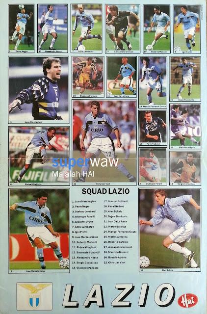 Poster Squad Lazio