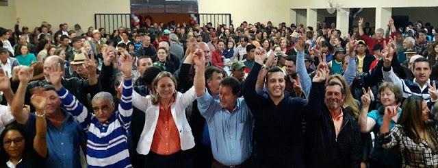 Manoel Ribas: PR oficializa pré-candidatura de Bete Camilo à reeleição