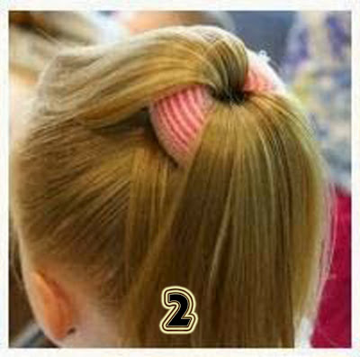 hairstyle for girls step by step, simple hairstyle for medium ...