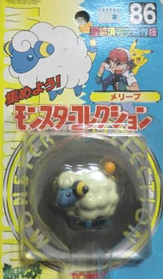 Mareep Pokemon figure Tomy Monster Collection series