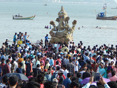 Ganeshji Visarjan Darshan