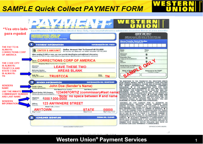 Whats the most money you can send western union / starblucks cf