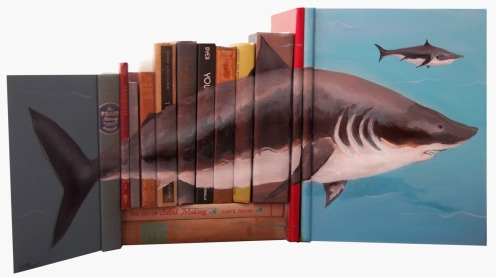 20-Mike-Stilkey-Books-used-as-Canvasses-for-Paintings-www-designstack-co