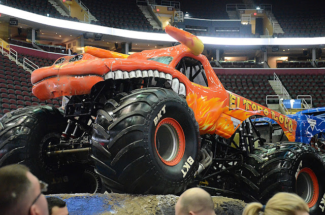 Monster Jam Pit Party El Toro