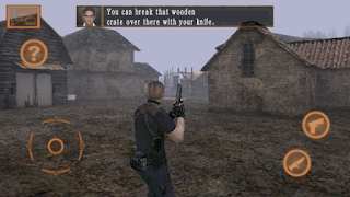 Resident Evil 4 mobile apk + data