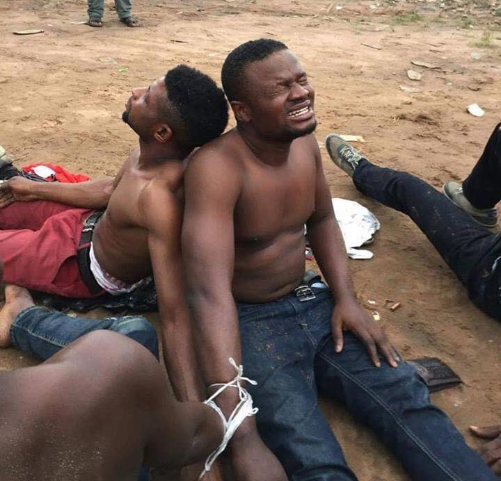 Yahoo boys nabbed with ladies' undies, wigs and other fetish items in Delta State