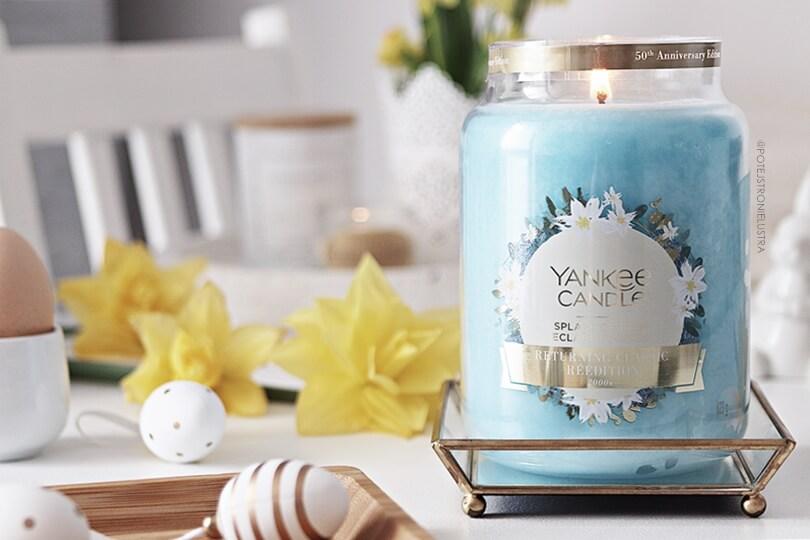 yankee candle splash of rain limitowany zapach 2019