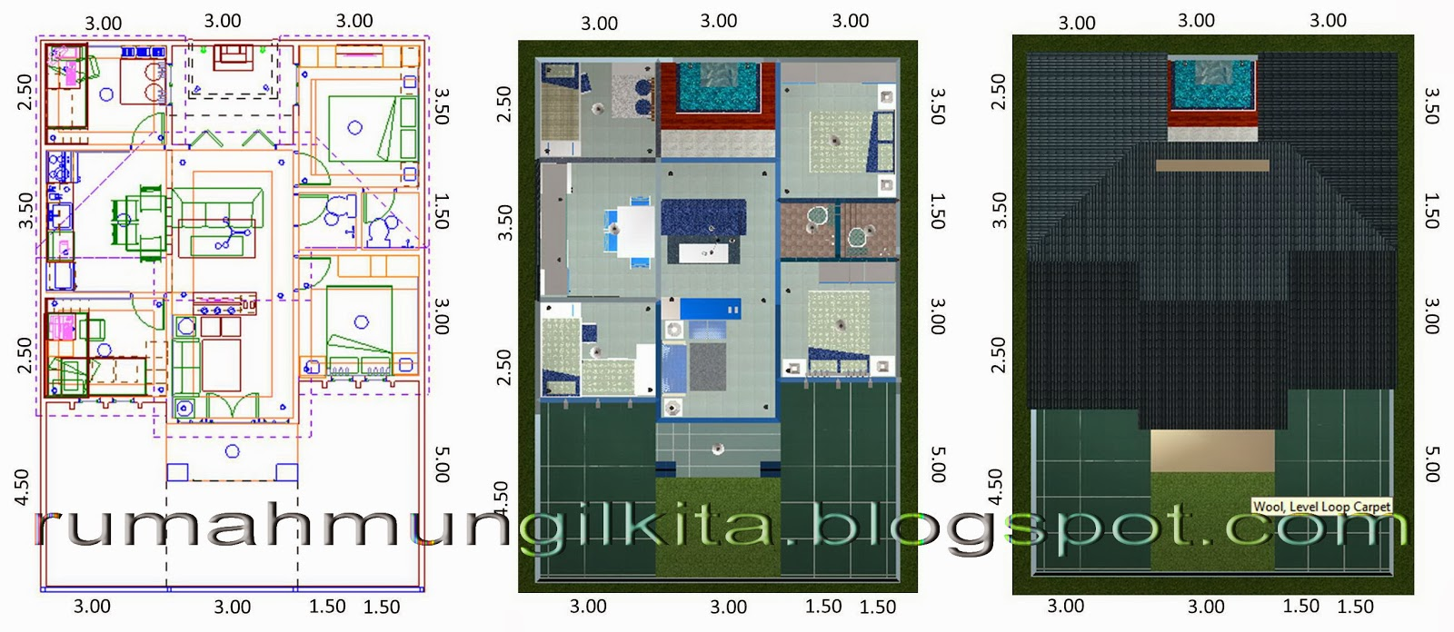 69 Desain Rumah Minimalis 2 Kamar Tidur Desain Rumah Minimalis Terbaru