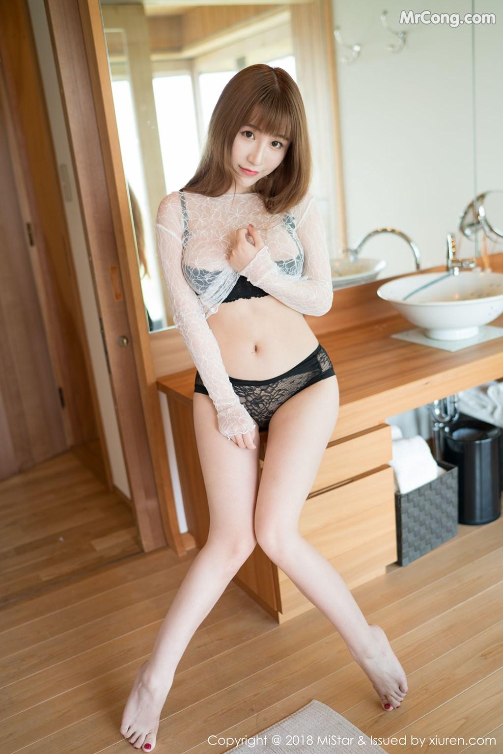 MiStar Vol.223: Người mẫu 绯月樱-Cherry (41 ảnh)
