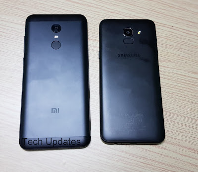 Xiaomi Redmi Note 5 vs Samsung Galaxy J6 : Specs, Features, Camera Comparison