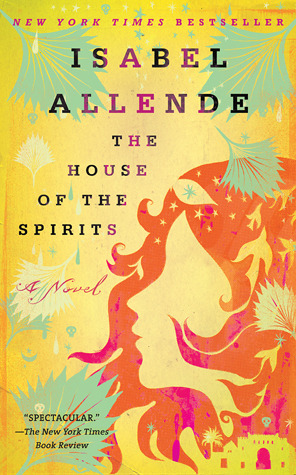 Book cover for Isabel Allende's The House of the Spirits in the South Manchester, Chorlton, and Didsbury book group