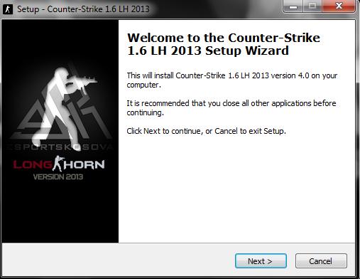 counter strike 1.6 longhorn 2013