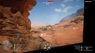 Screenshot of Battlefield 1 Open Beta - playing in a heavy tank