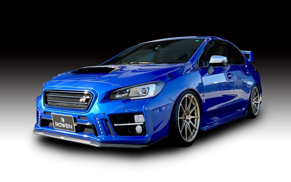Formula 1 One Race Car Wallpaper Bright Rowen Turns Subaru Wrx Sti Into A Road Going Rally Car