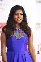 Eesha in Cute Blue Sleevelss Short Frock at Mirchi Music Awards South 2017 ~  Exclusive Celebrities Galleries 028.JPG