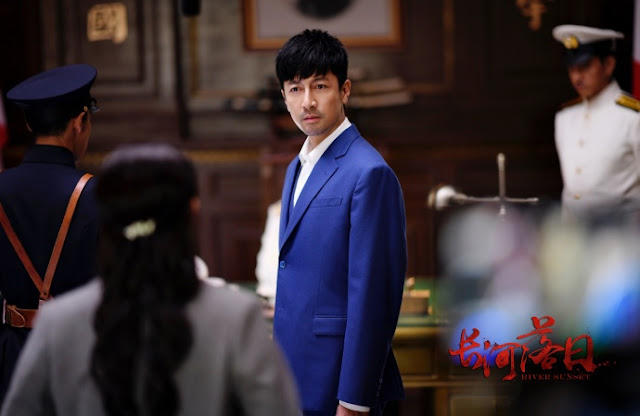 River Sunset war drama Zhang Luyi