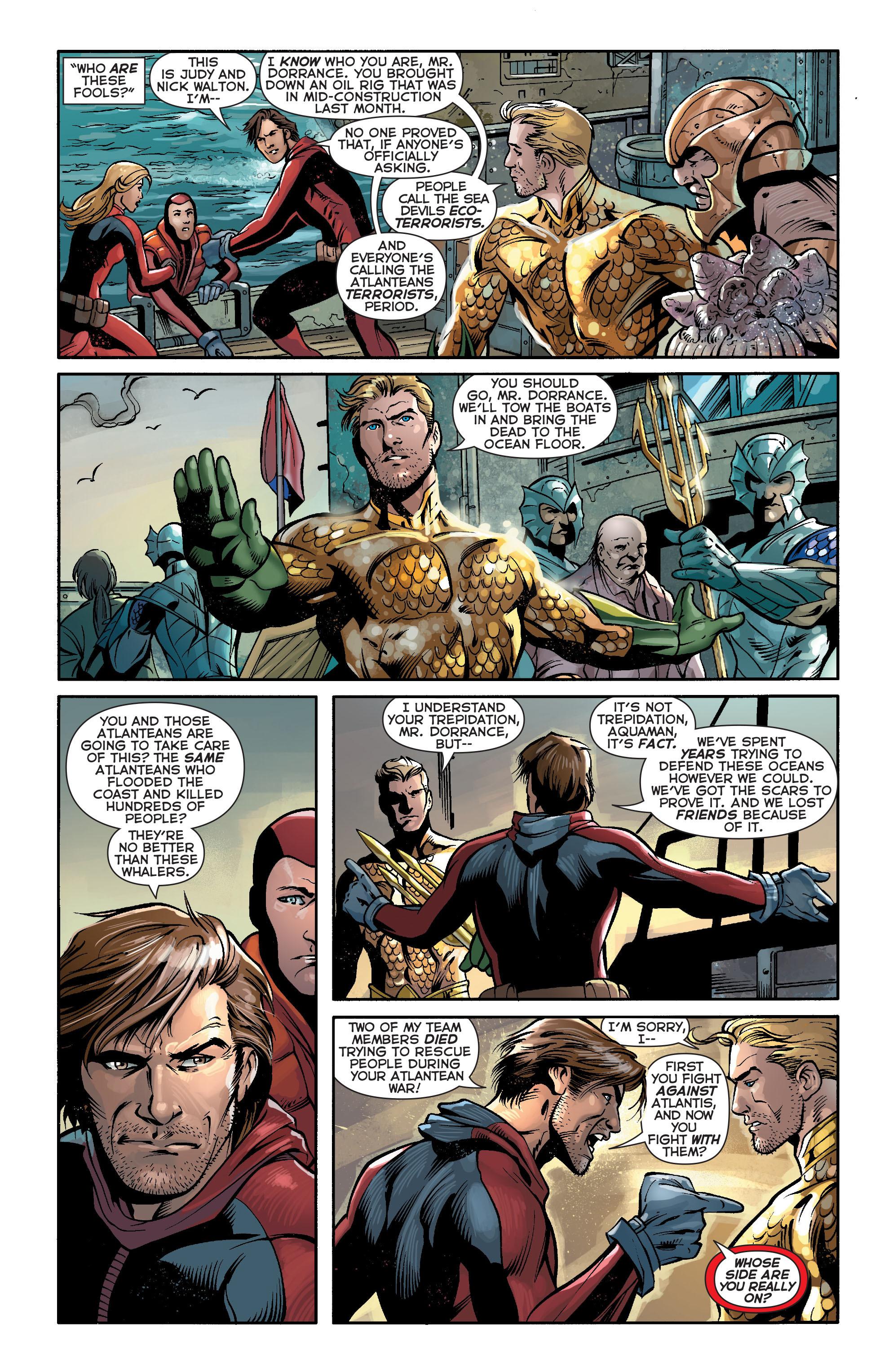 Read online Aquaman (2011) comic -  Issue #17 - 9