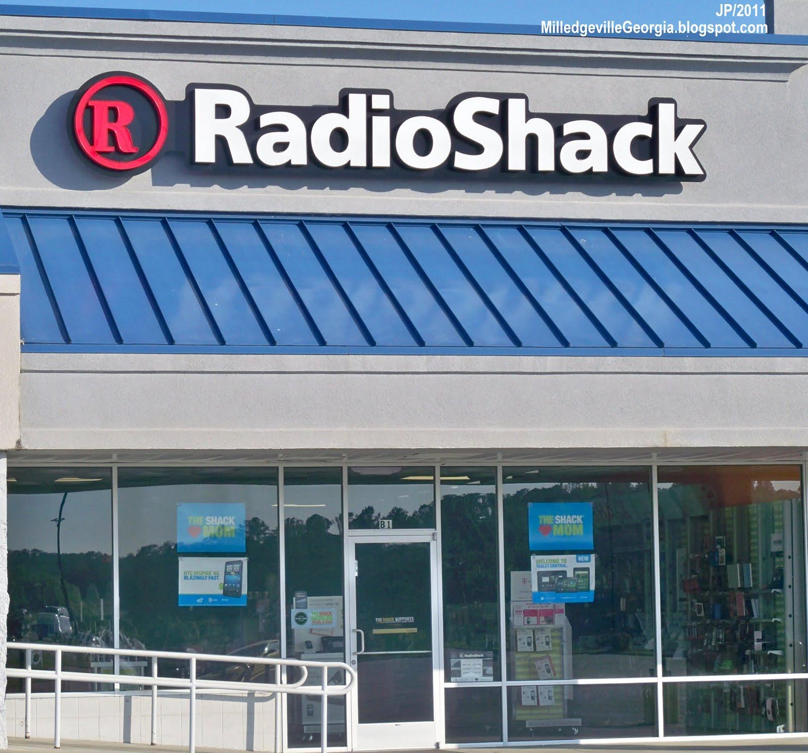 Radio Shack Stores: MILLEDGEVILLE GEORGIA GCSU GMC College Restaurant Menu
