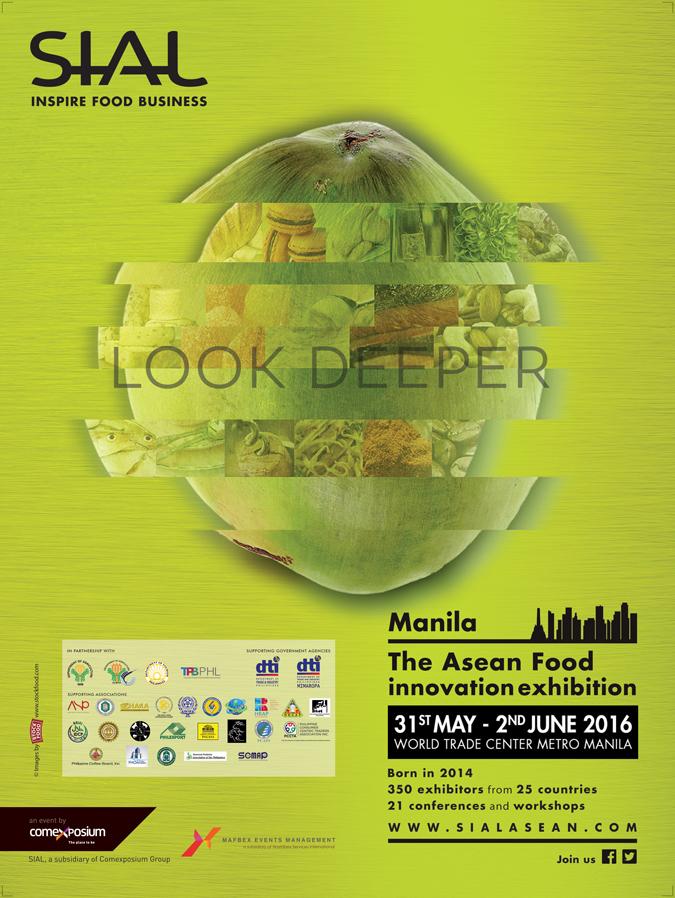 SIAL ASEAN Manila 2016: Look Deeper   Pepe Samson