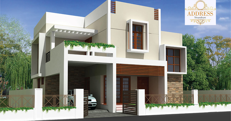 Villa For Sale at Kowdiar (Address Villa Project - Grand Casa Developers), Thiruvananthapuram, Kerala