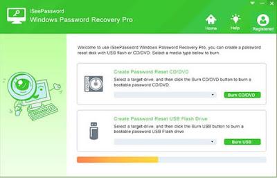 iSeePassword- windows 10 password reset