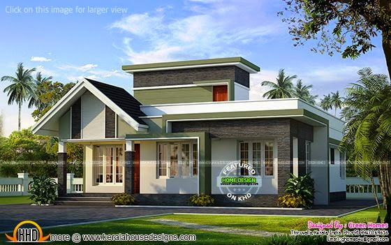 Small Kerala home design