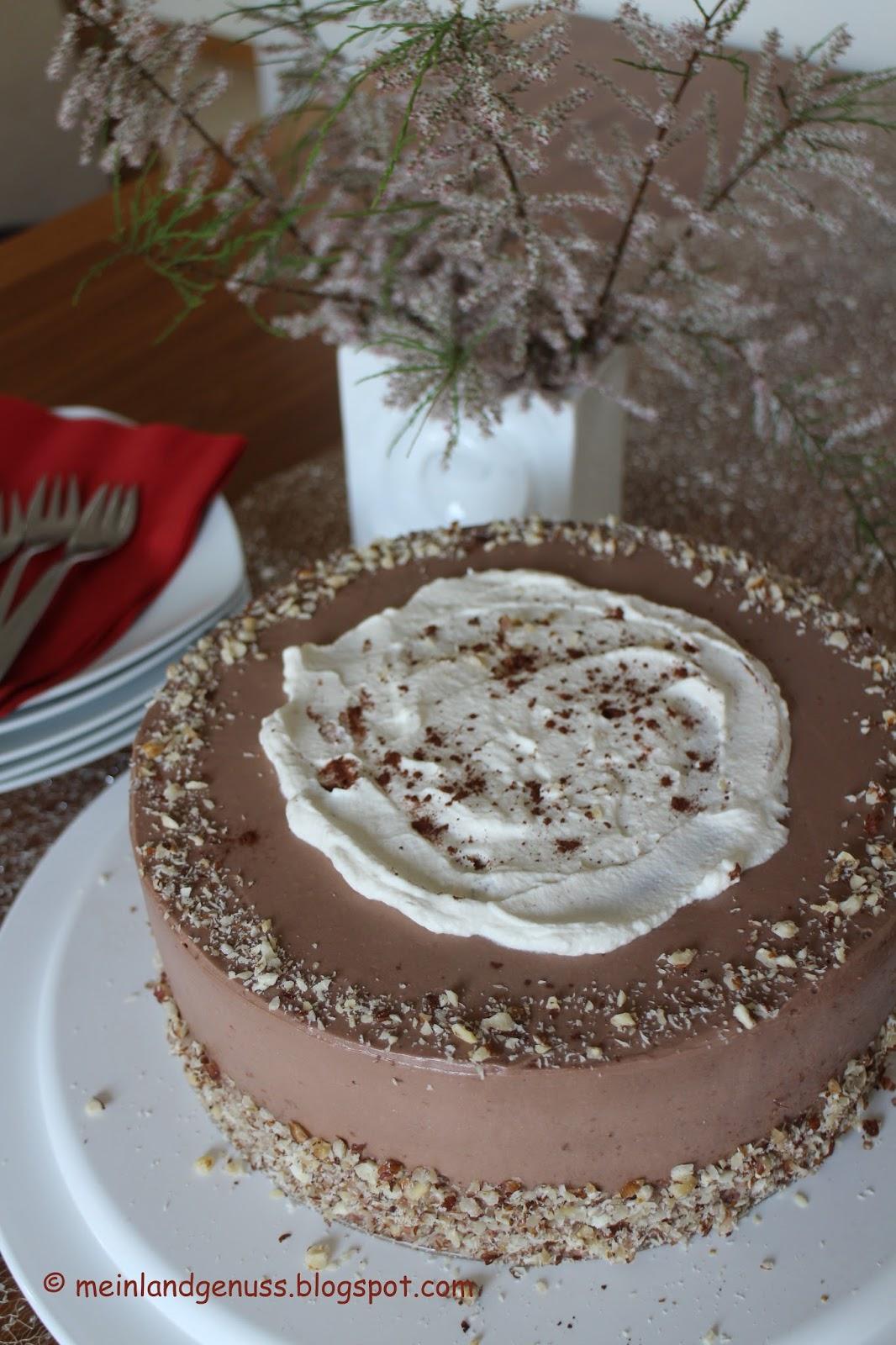 Mein Land Und Gartengenuss Haselnuss Latte Macchiato Torte Nach Sally