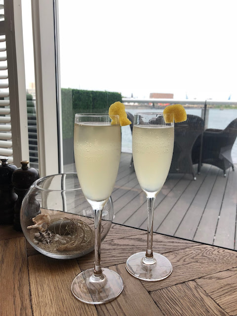 cocktails over cardiff bay