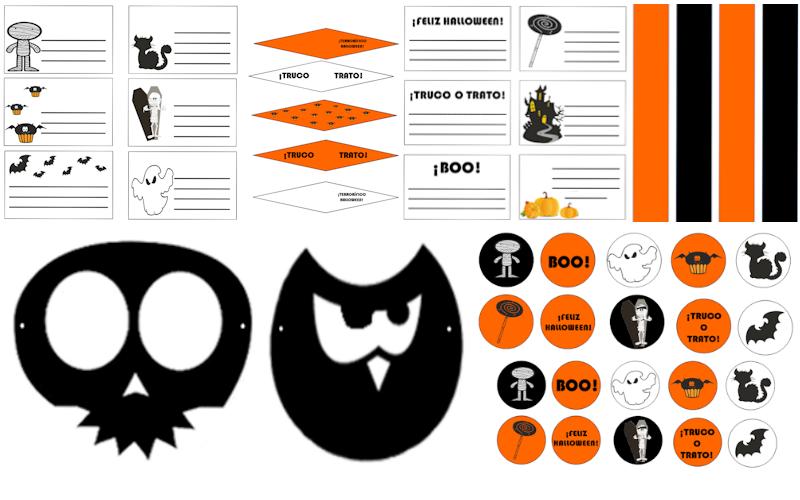 Halloween. Archivos descargables gratis DIY