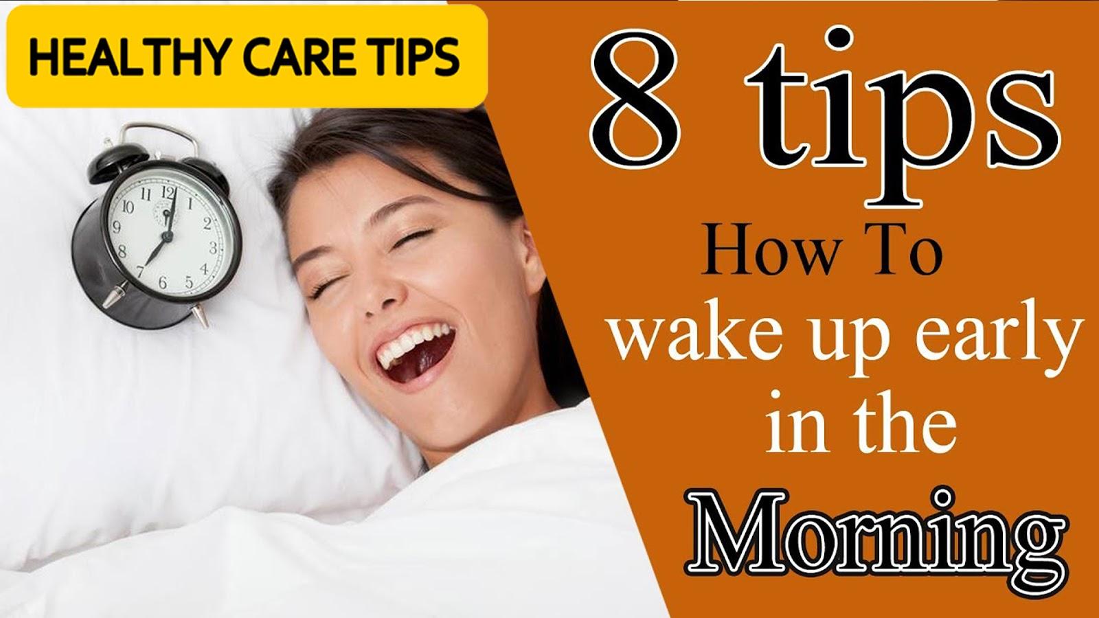 8 Ways To Wake Up Happy advise