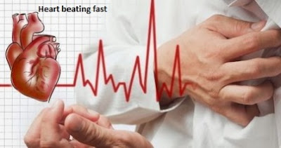 Heart beating fast and how to overcome it