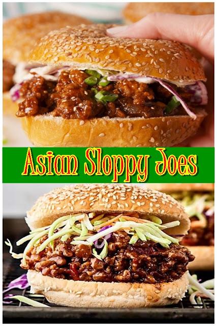 Asian Sloppy Joes