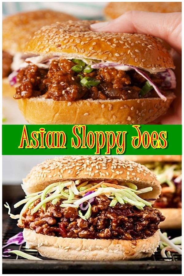 Asian Sloppy Joes