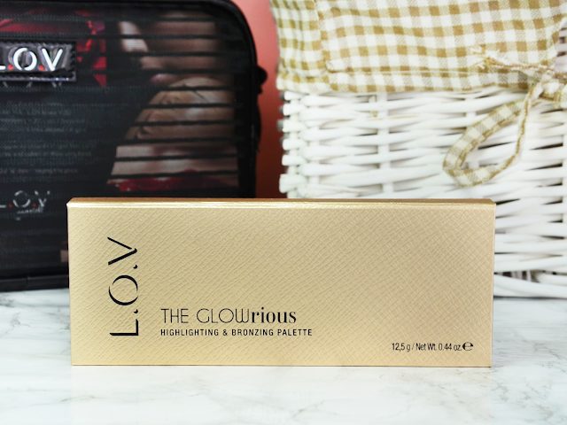 Blogger Mail: New L.O.V Fall Products THE GLOWrious Highlighting & Bronzing Palette 010 Rose Addiction