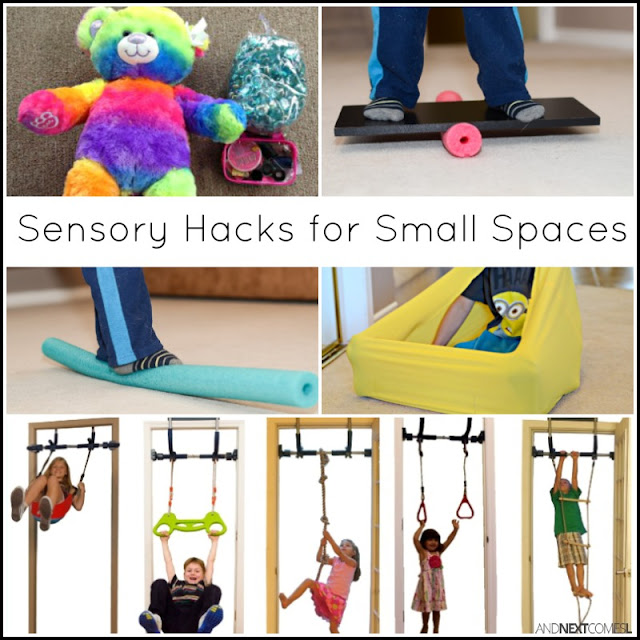 DIY sensory hacks for small spaces