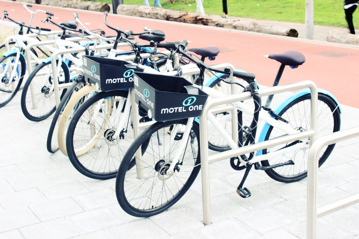 Motel One Amsterdam Bicycles