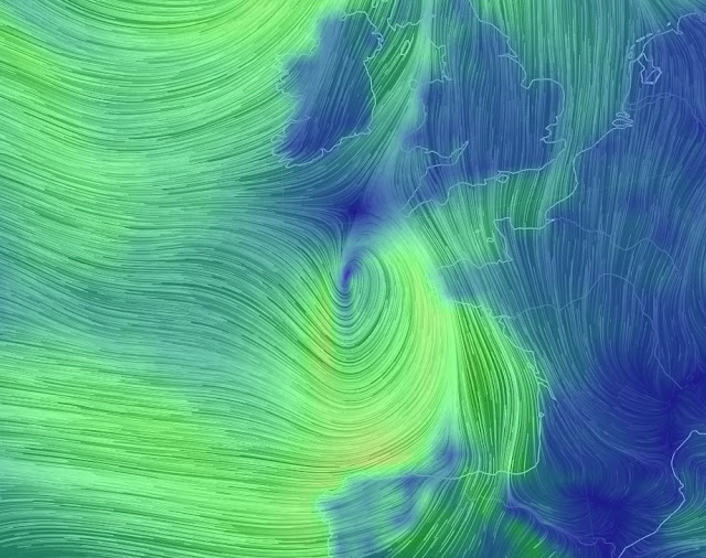 Western Europe braces its self for series of massive storms rolling in from Atlantic Untitled