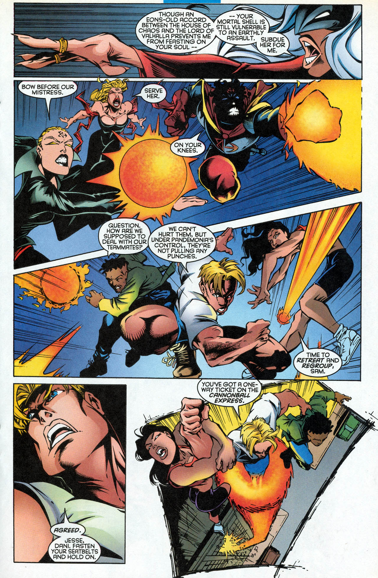 Read online X-Force (1991) comic -  Issue #85 - 22